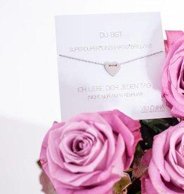 SWEETHEART bracelet silver