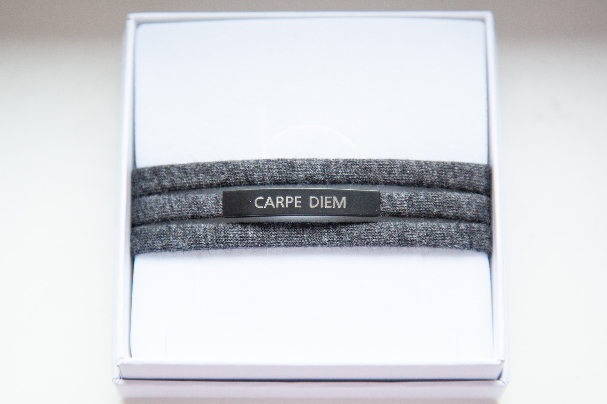 """CARPE DIEM"" black matt / N*dividual"