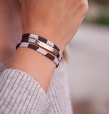 Black-Beige Stripes