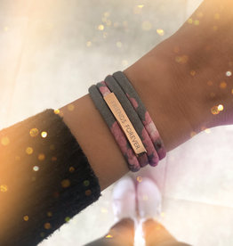 """""""FRIENDS FOREVER"""" rosegold glossy / N*dividual"""