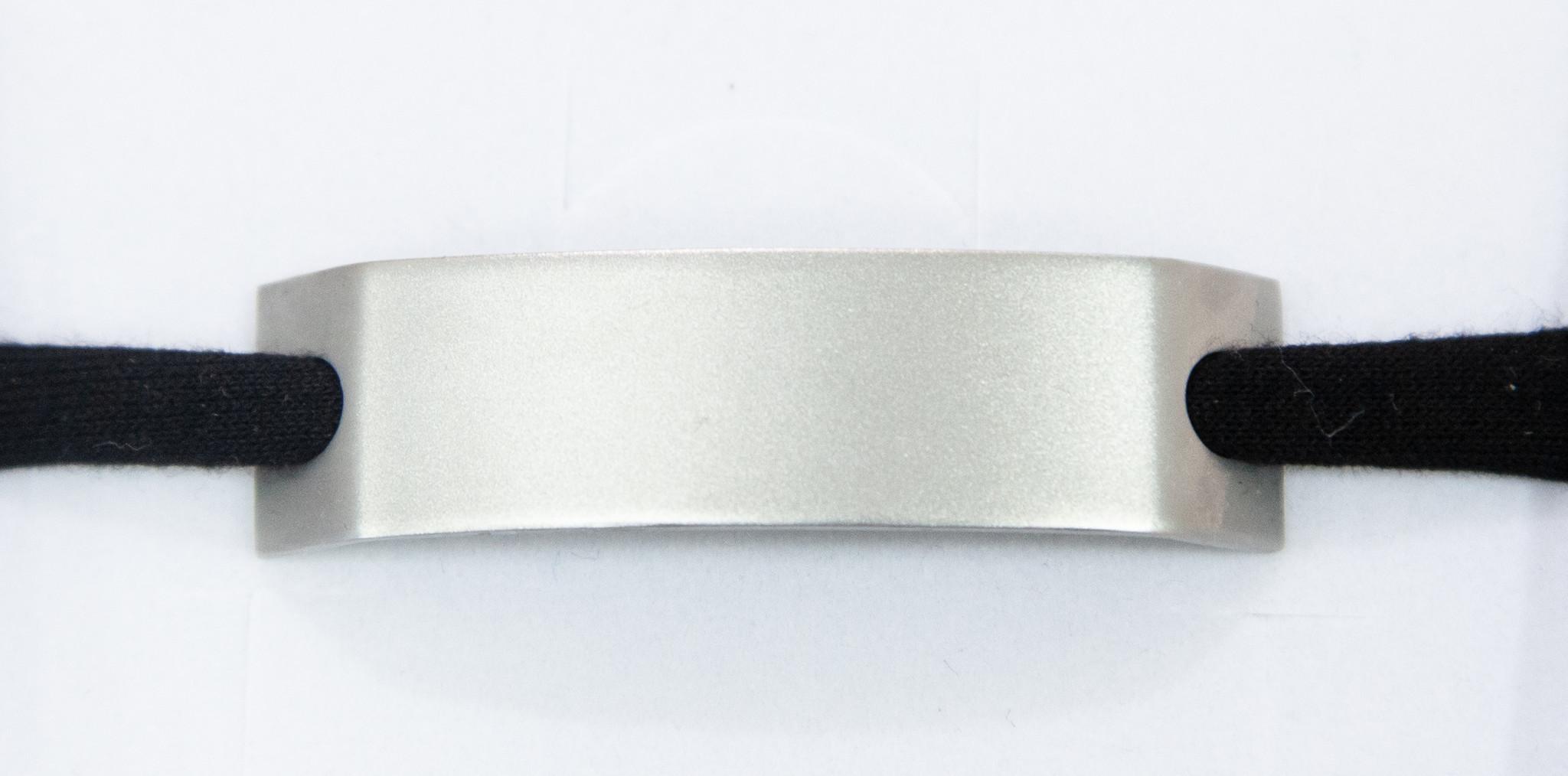 PERSÖNLICHE GRAVUR/ silver matt / N*spiracelet