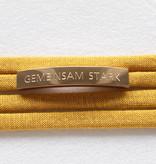 """""""GEMEINSAM STARK"""" rosegolden glossy"""