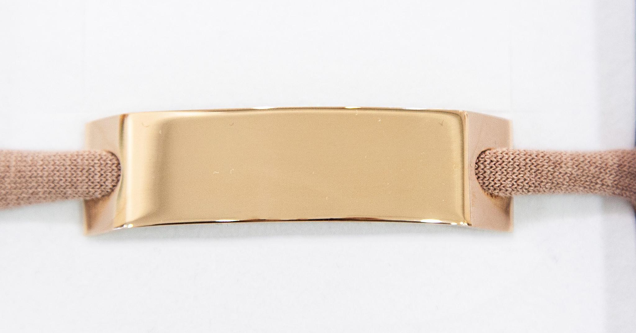 PERSONAL ENGRAVING/ rosegolden glossy/ N*spiracelet