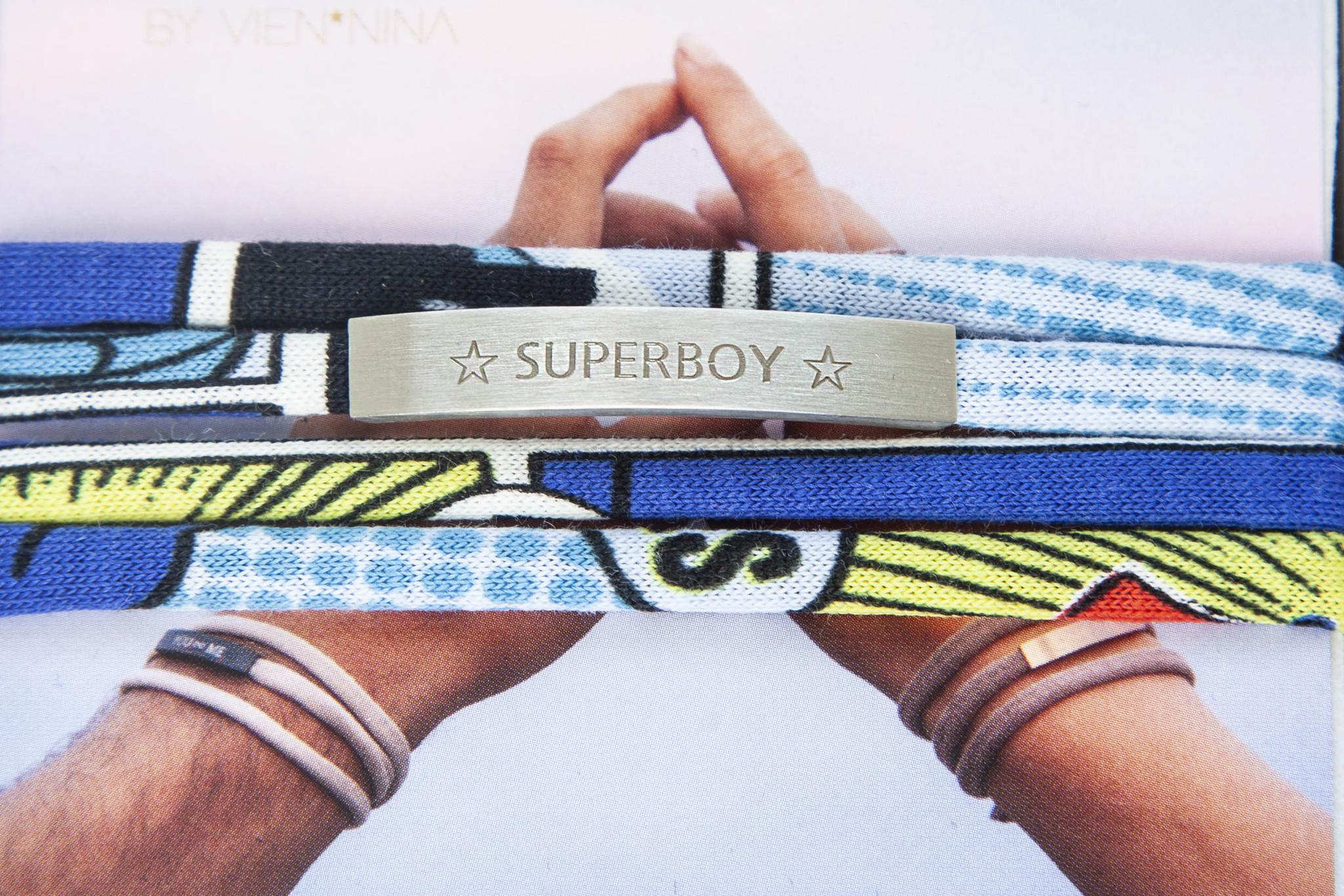 """SUPERBOY"" silver matt / N*dividual"