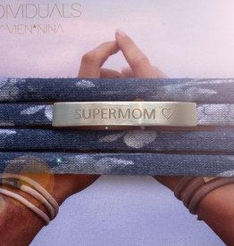 """""""SUPERMOM"""" silber matt / N*dividual"""
