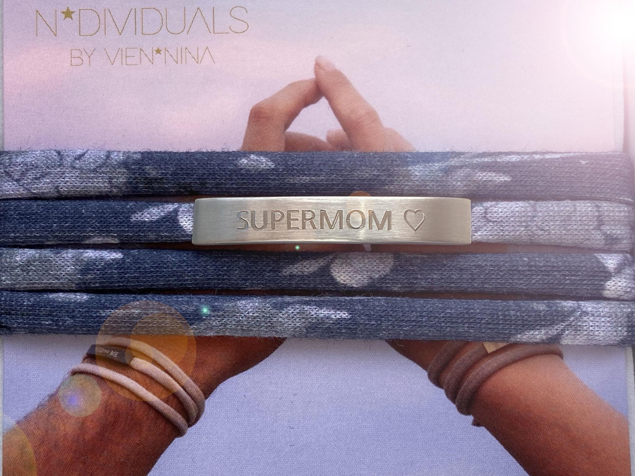 """""""SUPERMOM"""" silver matt / N*dividual"""