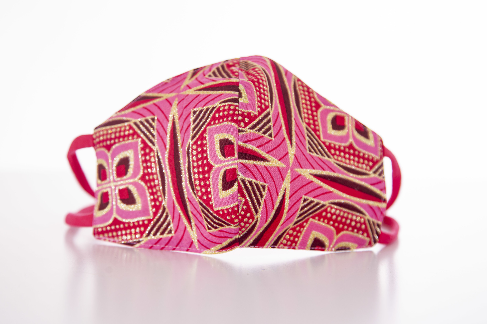 "MASK ""PINK ORNAMENT"""