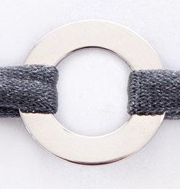 PERSÖNLICHE GRAVUR / ARMBAND / klein  silber glossy/N*FINITY