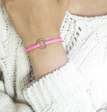 """ARMBAND/ klein rose glossy/ """"MADE WITH LOVE BY VIENNINA""""/ N*FINITY"""