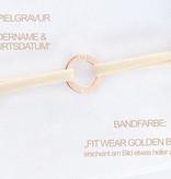 PERSÖNLICHE GRAVUR / ARMBAND/ klein  rosegold glossy/ N*FINITY