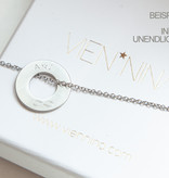 PERSONALIZATION/ NECKLACE silver matt LARGE / N*FINITY
