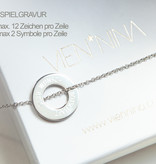 PERSONALIZATION / NECKLACE silver glossy LARGE/N*FINITY