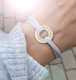 "ARMBAND/ groß rosegold matt/""MADE WITH LOVE BY VIENNINA"" / N*FINITY"