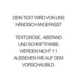 PERSÖNLICHE GRAVUR / ARMBAND/ groß  rosegold glossy/ N*FINITY