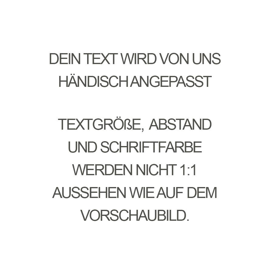 PERSÖNLICHE GRAVUR/ ARMBAND / groß  schwarz matt / N*FINITY