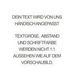 PERSÖNLICHE GRAVUR / ARMBAND/ groß silber glossy /N*FINITY