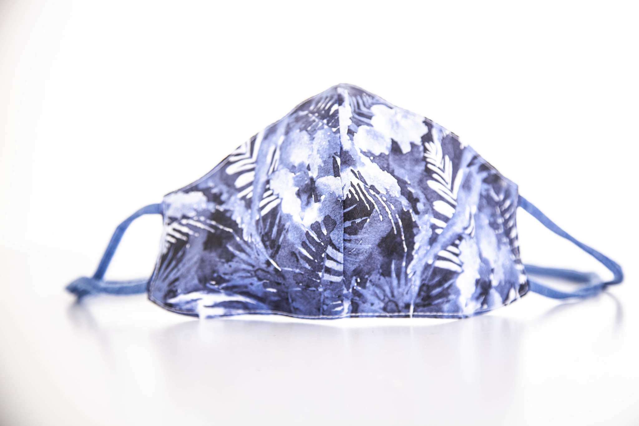 "MASK ""BLUE FLOWERS"""