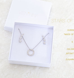 "DREAM PAIR: ""STARS OF N*FINITY"" silver"