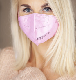 "PRE ORDER! Delivery around February 8th DEAL: 5er Pack FFP2 Maske ""light pink"""