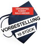 "10 er Set: FFP2 Maske ""Dunkelblau"""