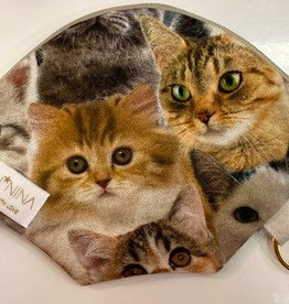 "Handmade Bag for masks ""NEW CATS"""