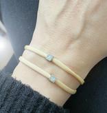 N*ITIAL  Armband mit 2 Würfel