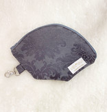 "Handmade Bag for masks ""JACQUARD GREY"""
