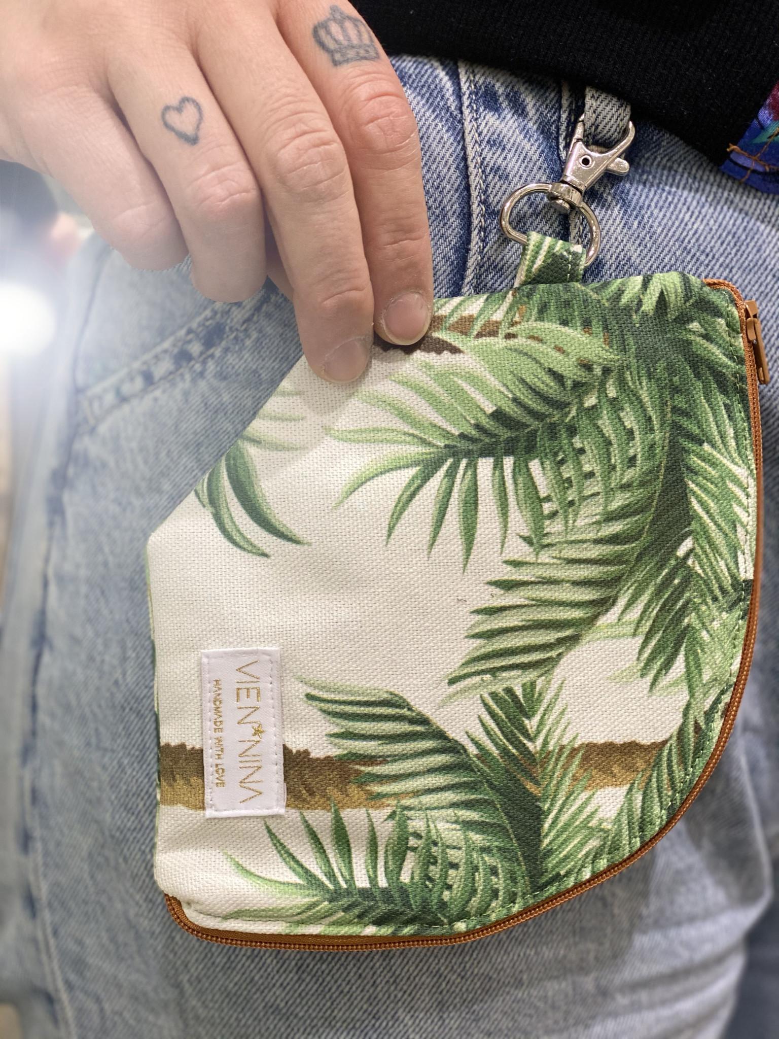 """Handmade Bag for masks """"CHERRY BLOSSOM"""" - Copy"""