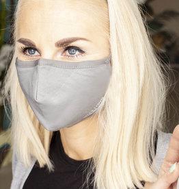 !NEU! 5 Stück wiederverwendbare Nano-FFP2-Masken /GRAU