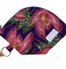 """Handmade Bag for masks """"AFRICAN FLOWER"""""""