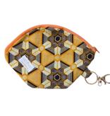 """Handmade Bag for masks """"AFRICAN HONEY"""""""