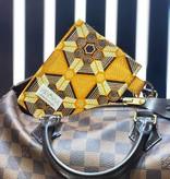 """Handmade bag for passes """"AFRICAN HONEY"""""""