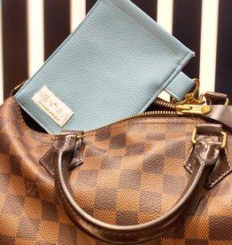 """Handmade bag for passes """"LIGHT BLUE"""""""