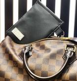 """Handmade bag for passes """"BLACK"""""""