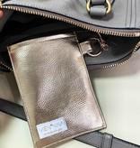 """Handmade bag for passes """"GOLD"""""""
