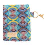 "Handmade bag for passes ""AFRICAN SEA"""