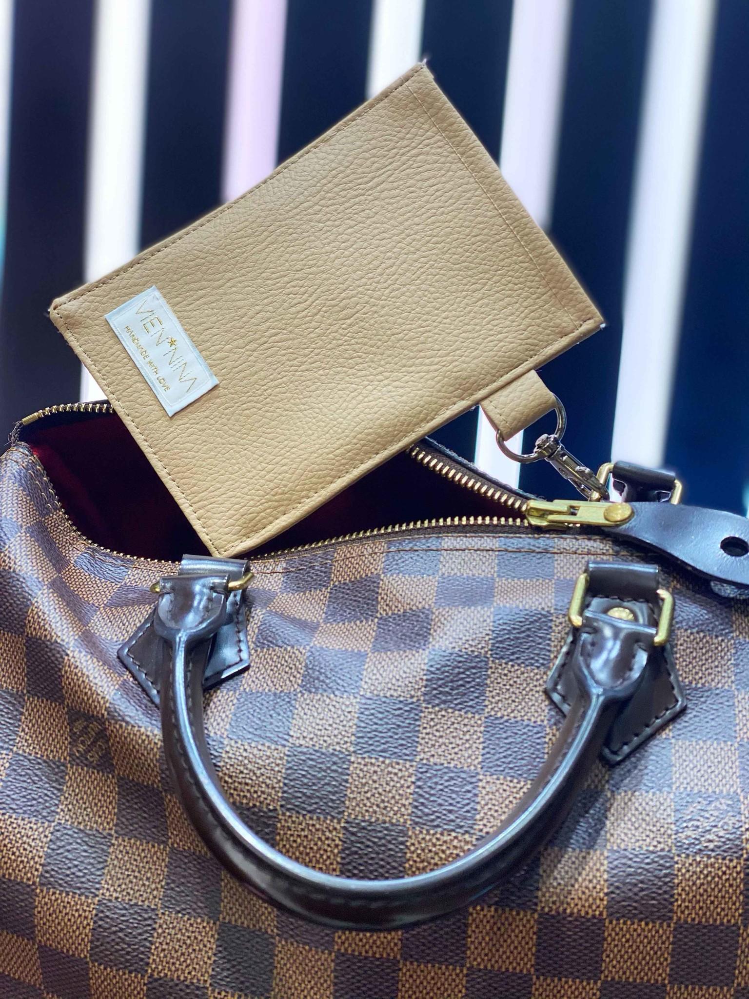 "Handmade bag for passes ""NUDE"""
