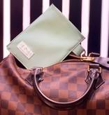 """Handmade bag for passes """"MINT"""""""