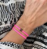 "N*ITIAL  Bracelet or Necklace ""A""  black"