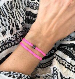 """C"" / N*ITIAL  Armband oder Halskette schwarz"