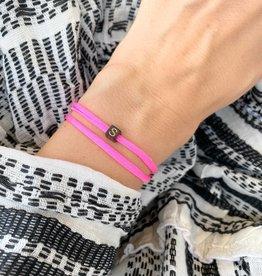 """S"" / N*ITIAL  Armband oder Halskette  schwarz"