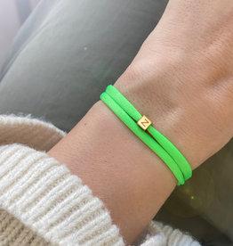 "N*ITIAL  Bracelet or Necklace ""Z""  gold"