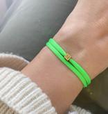 "N*ITIAL  Armband oder Halskette ""N"" gold"