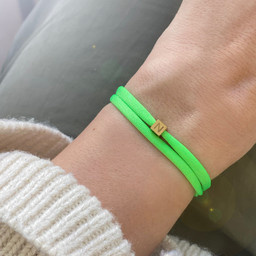 "N*ITIAL  Bracelet or Necklace ""N""  gold"