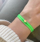 """N*ITIAL  Armband oder Halskette """"A"""" gold"""