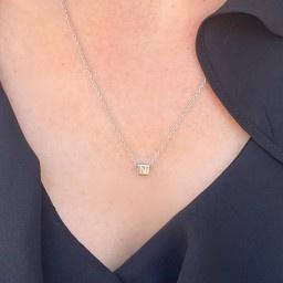 "N*ITIAL  Armband oder Halskette ""E"" gold"