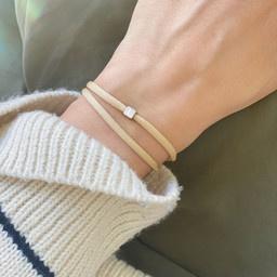 "N*ITIAL  Armband oder Halskette ""L"" silber"