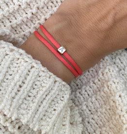 """A"" / N*ITIAL  Armband oder Halskette  rosegold"