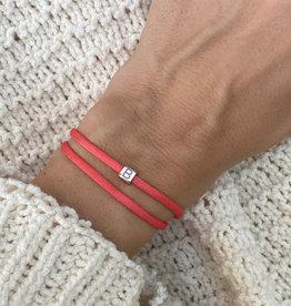 """""""B"""" / N*ITIAL  Armband oder Halskette rosegold"""
