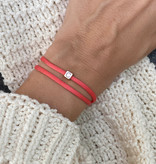 """N*ITIAL  Armband oder Halskette """"C"""" rosegold"""